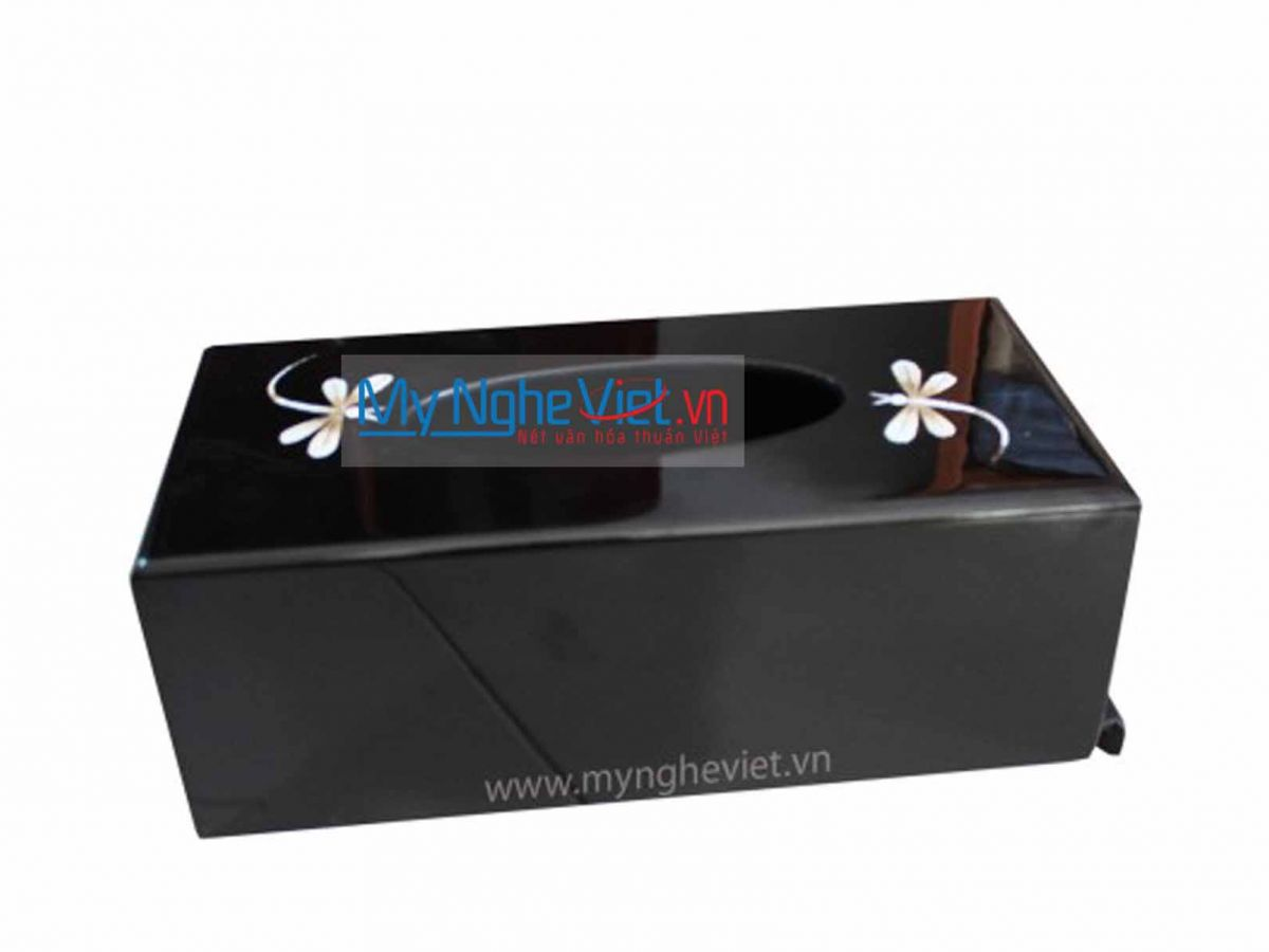 Lacquer Painting Tissue Box MNV-HKG02